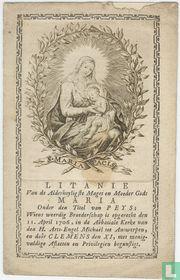 Litanie van de Allerheyligste Maget en Moeder Maria te Antwerpen