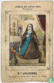 Ste Julienne - Jubilé de Liège 1846