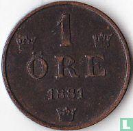Zweden 1 öre 1881