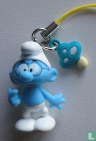 Brainy smurf with mushroom