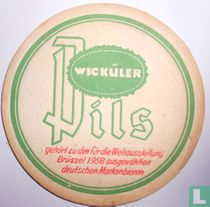 Gehört zu den für die Weltausstellung Brüssel 1958 ausgewählten deutschen Markenbieren