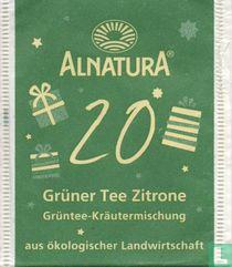 20 Grüner Tee Zitrone
