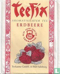 Aromatisierter Tee Erdbeere