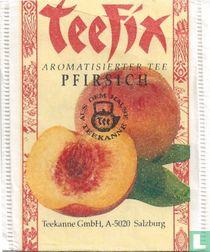 Aromatisierter Tee Pfirsich