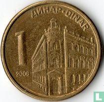 Servië 1 dinar 2006