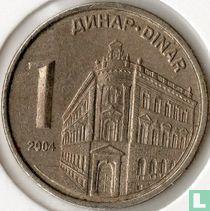 Servië 1 dinar 2004