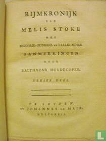 Rijmkronijk van Melis Stoke - Eerste deel