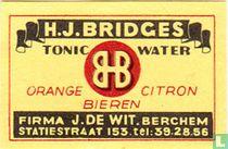 H.J. Bridges - tonic water - J de Wit