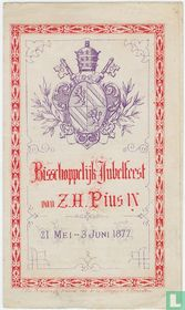Bisschoppelijk Jubelfeest van Z.H. Pius IX