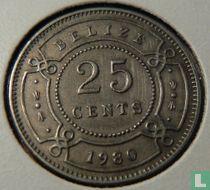 Belize 25 cents 1980