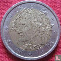 Italy 2 euro 2002 (misstrike)