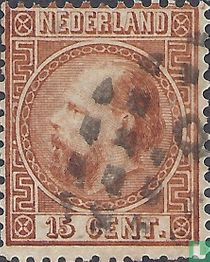 King William III (13½ perforation)