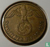 Duitse Rijk 10 reichspfennig 1937 (D)