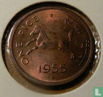India 1 pice 1955 (Bombay)