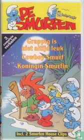 Grappig is niet altijd leuk + Cowboy Smurf + Koningin Smurfin
