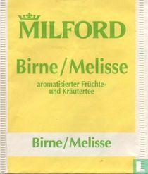 Birne / Melisse