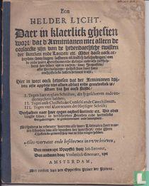 Een helder licht, daer in klaerlick ghesien wort dat d'Arminianen niet alleen de oorsaecke zijn