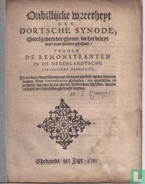 Onbillijcke wreetheyt der Dortsche Synode