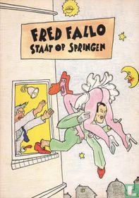 Fred Fallo staat op springen