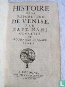 Histoire de la Republique de Venise - 1