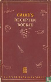 Calvé's Recepten Boekje