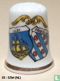 Wapen 2x - IJlst + Friesland