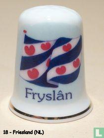 Provincievlag van Friesland. (NL)