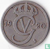Schweden 50 Öre 1920 (Oval 0)