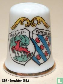 Wapen 2x - Drachten + Friesland