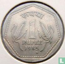 India 1 rupee 1985 (Birmingham)
