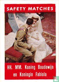 HH. MM. Koning Boudewijn en Koningin Fabiola