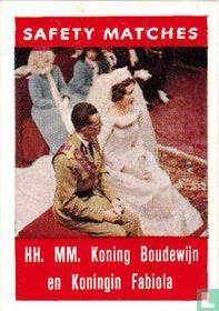 HH. MM.Koning Boudewijn en Koningin Fabiola