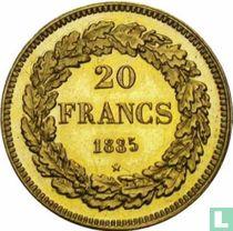België 20 francs 1835