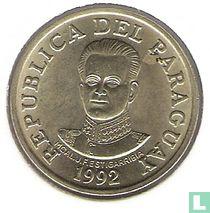 Paraguay 50 guaranies 1992