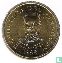 Paraguay 50 guaranies 1998