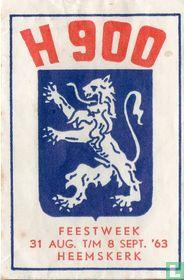 H 900 Feestweek