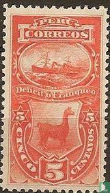 Steamship und Lamas,