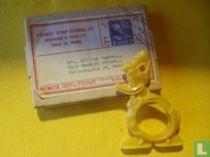 Donald Duck servet-ring