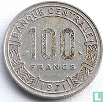 Cameroon 100 francs 1971
