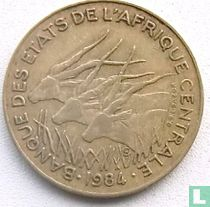 Centraal-Afrikaanse Staten 25 francs 1984