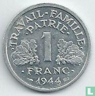 Frankreich 1 Franc 1944 (ohne Buchstabe)