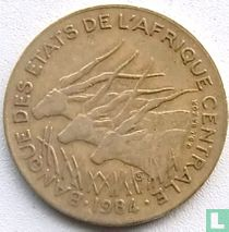 Centraal-Afrikaanse Staten 10 francs 1984