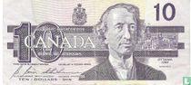 Canada 10 Dollars 1989