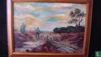 Shepherd on the Heath