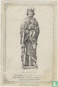 H. Joseph gekroond in Brussel