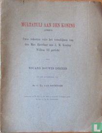 Multatuli aan den Koning (1860)