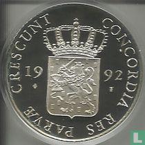 """Nederland 1 dukaat 1992 (PROOF) """"Utrecht"""""""