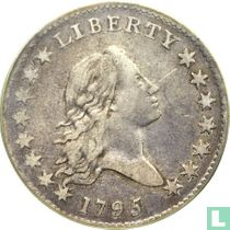 United States ½ dollar 1795 (S over D)
