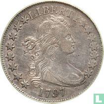 United States ½ dollar 1797
