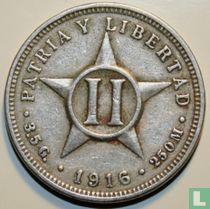 Cuba 2 centavos 1916